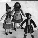 Welsh, Irish and Scots Girl Dolls