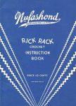 Nufashond Rick Rack Crochet Book