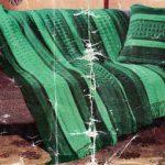 Otway Afghan and Cushion