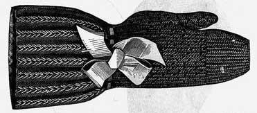 Victorian era mittens