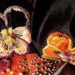 Velvet Appliqué Pansies