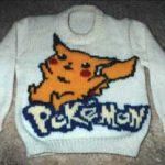 Pokémon (Pikachu) Knitting Chart