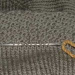 How to Remove Ribbing from a Garment Knit from the Bottom Up