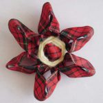 Stitched Ribbon Loomed Flowers