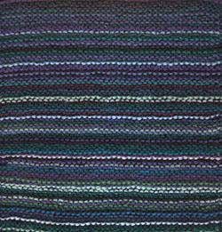 Rich garter St Afghan Square