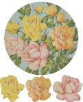 Vintage Rose Symbols
