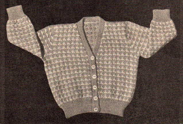 5686330e955a7 Sandra Baby Cardigan » Knitting-and.com