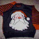 Santa Claus Knitting Chart