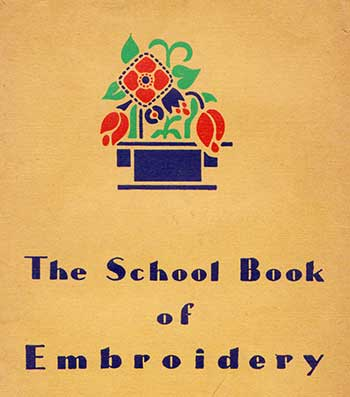 The Schoolbook of embroidery front cover