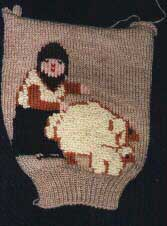 Knitted shepherd
