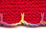 Slip Stitch Edging