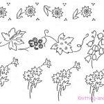 Small Floral Motifs c1930