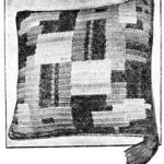 Smart Cushion Cover in Crochet from 1939