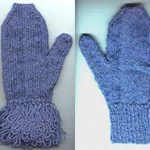 Fringed Mittens