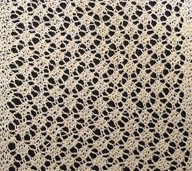 Knitted Snowflake lace