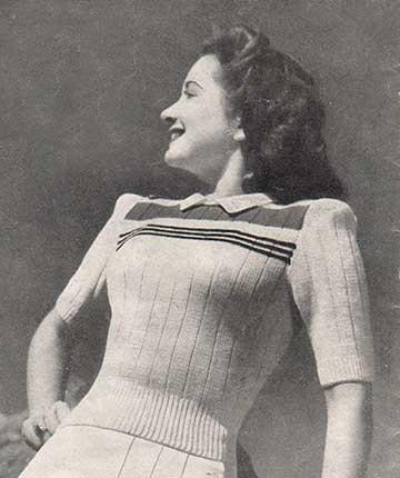 Vintage tennis jumper/sweater