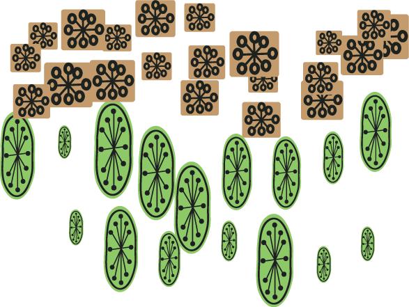 Temporama scatter brushes for Adobe Illustrator