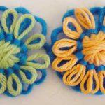 Thick and Thin Loomed Flowers