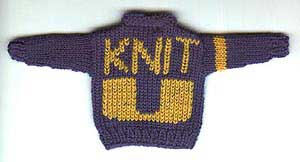 Tiny KnitU College Sweater