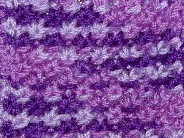 Textured knitting