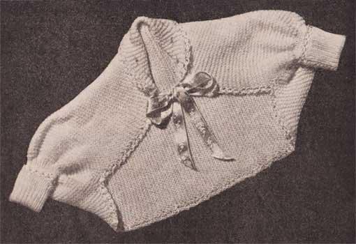 Knitting garter stitch bay shrug