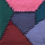 Oddball Sampler Afghan Square #31: Victorian Patchwork