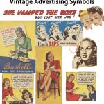 Vintage Advertising Symbols