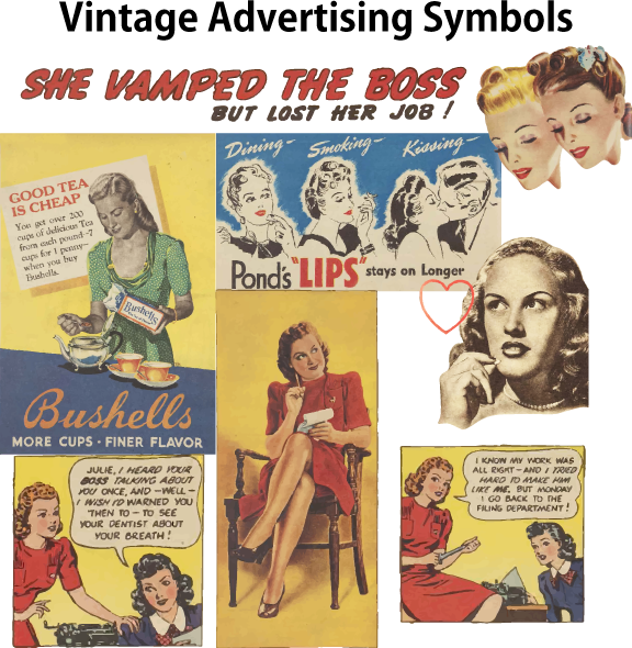Vintage advertising from the 1930's and 40's