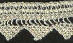 Fine Knitted Lace Edging