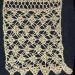 Wide Tunisian Lace