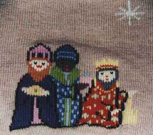Knitted wise men
