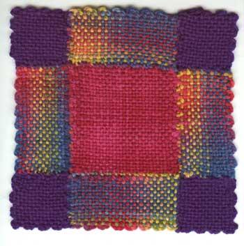 weavette quilt square