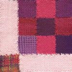 Nine Patch with Sashings Weavette Patchwork Square