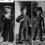 Sailor, Soldier and Airman Dolls