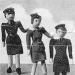 WAAF, ATS and WRNS Dolls