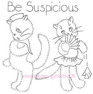Be Suspicious. World war 2 embroidery design