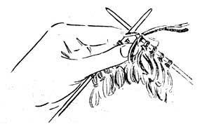 Loop stitch diagram