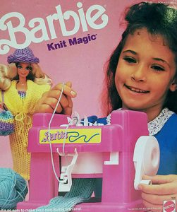 The Barbie Knit Magic Machine