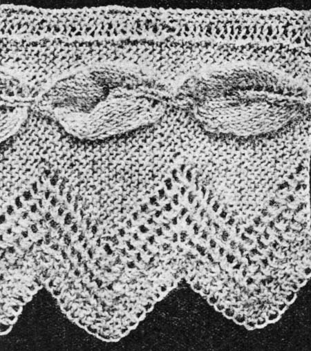 Raised Leaf Lace » Knitting-and.com