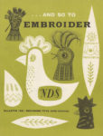 And So To Embroider 16b – Designing Toy Birds