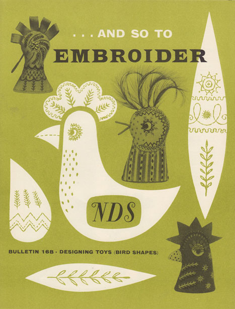 And So To Embroider 16b by the Needlework Development Scheme. Designing Toys (Bird Shapes)