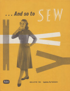 And So To Sew bulletin 19a by The Needlework Development Scheme