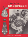 And So To Embroider 19b – Entertaining