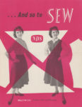 And So To Sew 21a – Sewing a Skirt and Waistcoat