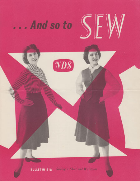And So To Sew bulletin 21a