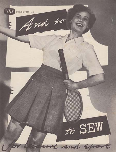 And So To Sew 9a - cover