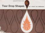 Tear Drop Shapes as a Basis for Embroidery