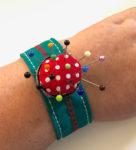 Upcycled Custom Fit Wrist Pincushion